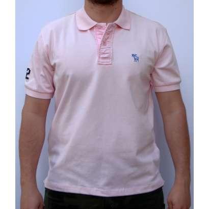 Majica Abercrombie AF818 SVETLO ROZE