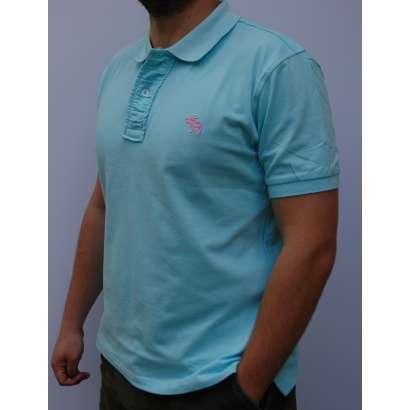 Majica Abercrombie AF818 SVETLO PLAVA