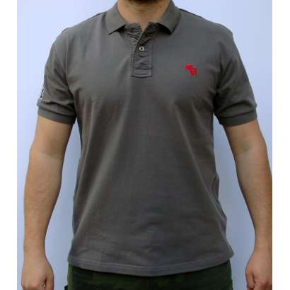 Majica Abercrombie AF 818 SIVA
