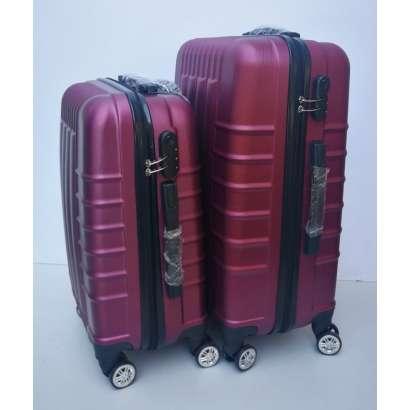 Set 2u1 ABS mali i srednji kofer 019 bordo