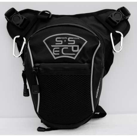Moto torbica za butinu SSPEC vez siva slova