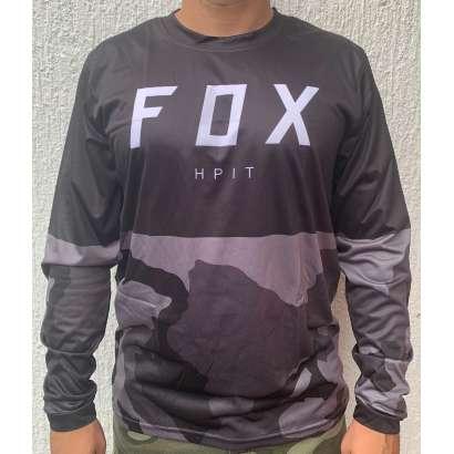 Moto kros dres mod.003 FOX crni