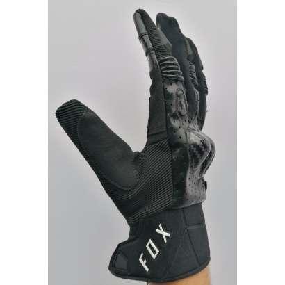 Moto rukavice Fox Bomber crne
