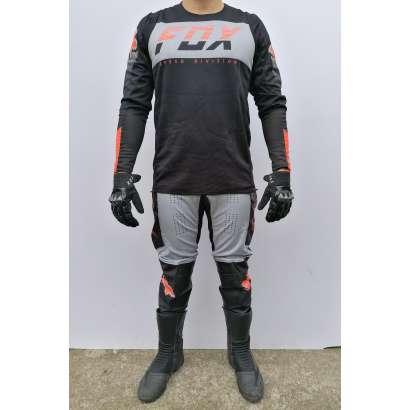 Moto kros odelo Fox mod.2 crno sivi