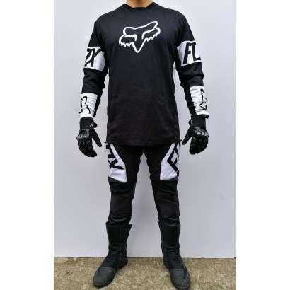 Moto kros odelo Fox mod.1 crno beli
