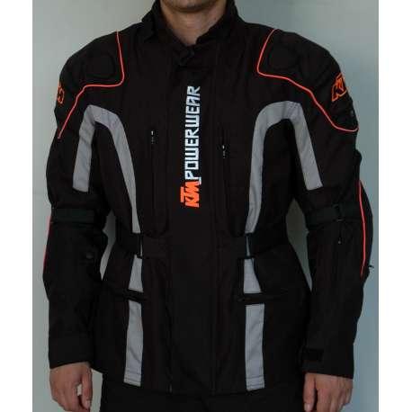 Moto jakna KTM crna