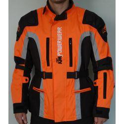Moto jakna KTM orange